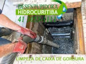 LIMPEZA DE CAIXA DE GORDURA no Capao Raso